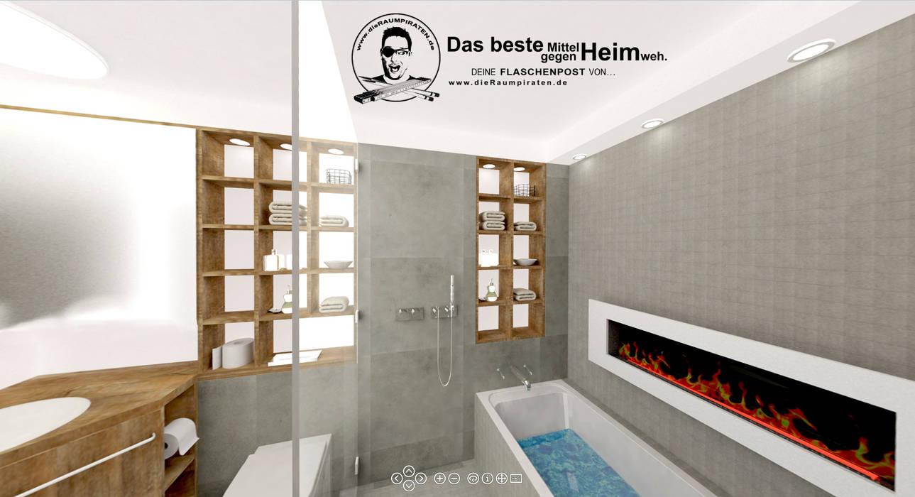 Bad Ohne Fenster Badezimmer Von Die Raumpiraten Homify