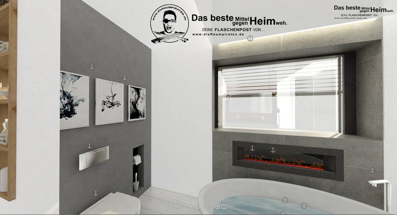 Bad mit freistehender wanne: badezimmer von die raumpiraten® | homify