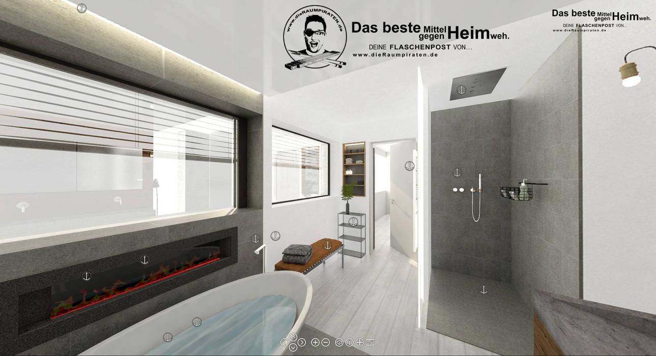 Bad mit freistehender wanne moderne badezimmer von die ...