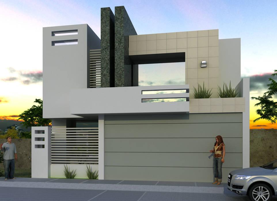 Proyectos....: Casas de estilo  por CouturierStudio, Moderno