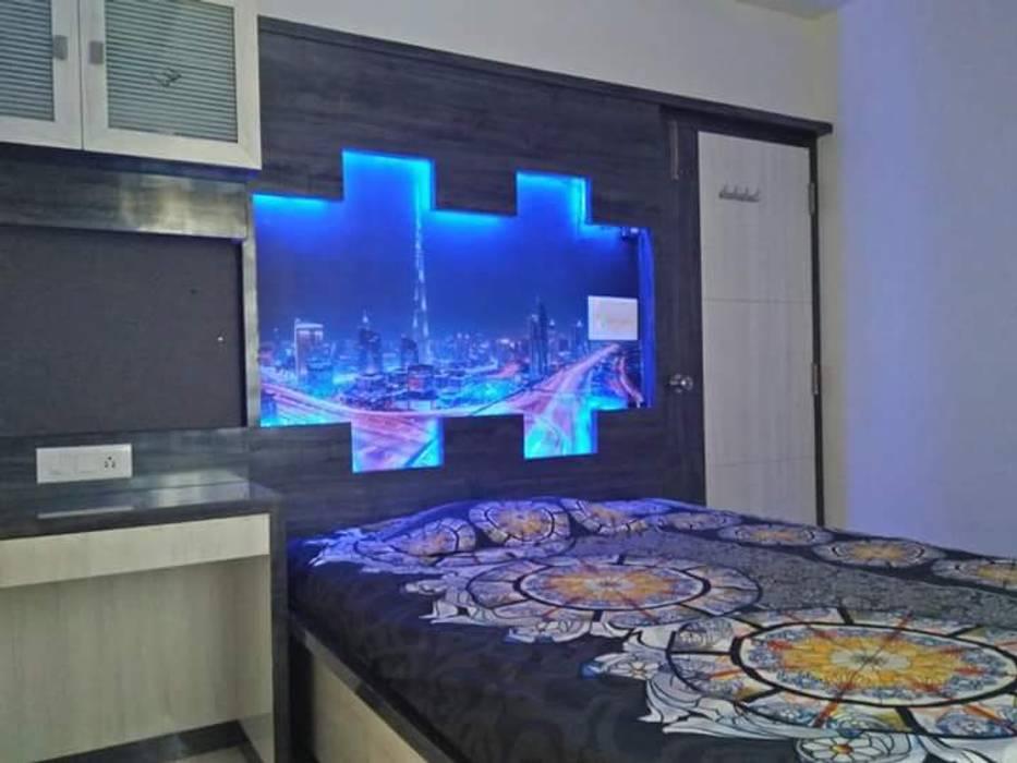 Bedroom Interior:  Bedroom by RID INTERIORS