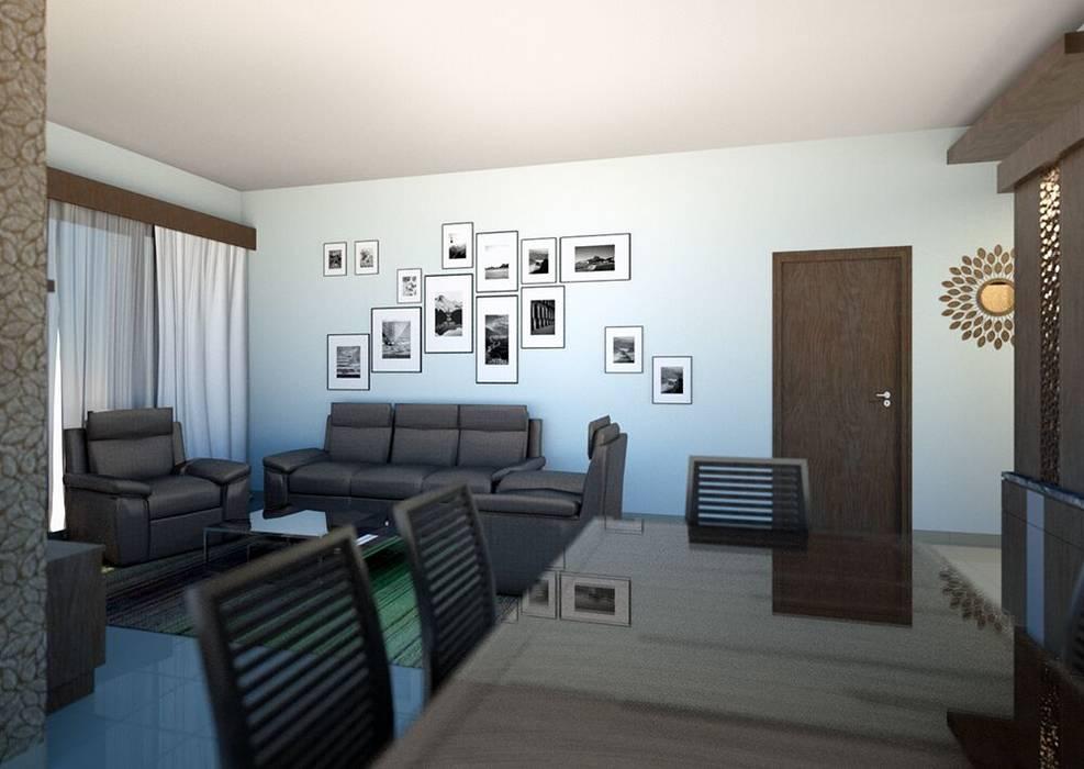 Project Modern dining room by BLUCAP LLP Modern