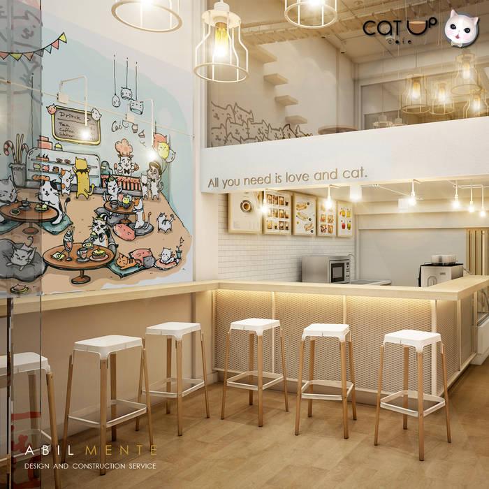 มุมสบายๆ ชิวๆ กับ เคาน์เตอร์บาร์ Abilmente Co.,Ltd ร้านอาหาร