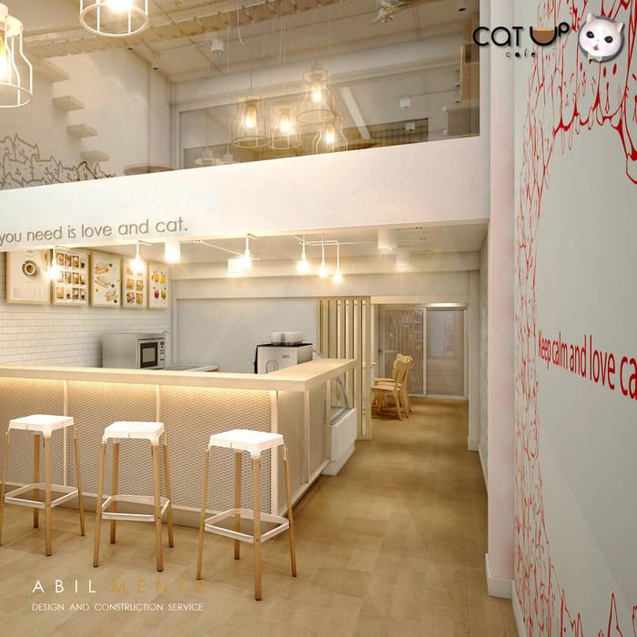 ขยับเข้ามาอีกนิด:  ร้านอาหาร โดย Abilmente Co.,Ltd, มินิมัล
