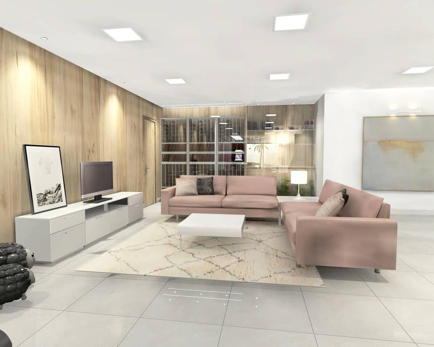 Diseño de sotano acondicionado Garajes de estilo moderno de CARMAN INTERIORISMO Moderno