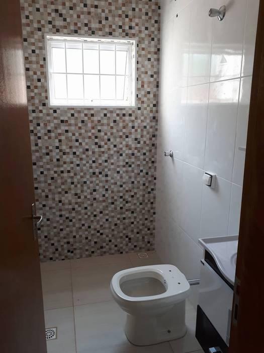 Guedes e Menezes Arquitetura + Engenharia Modern Bathroom