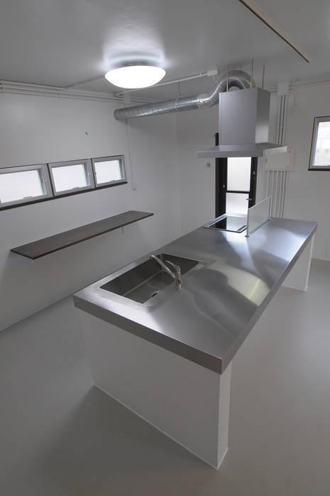 Cuisine de style  par hacototo design room, Industriel Fer / Acier