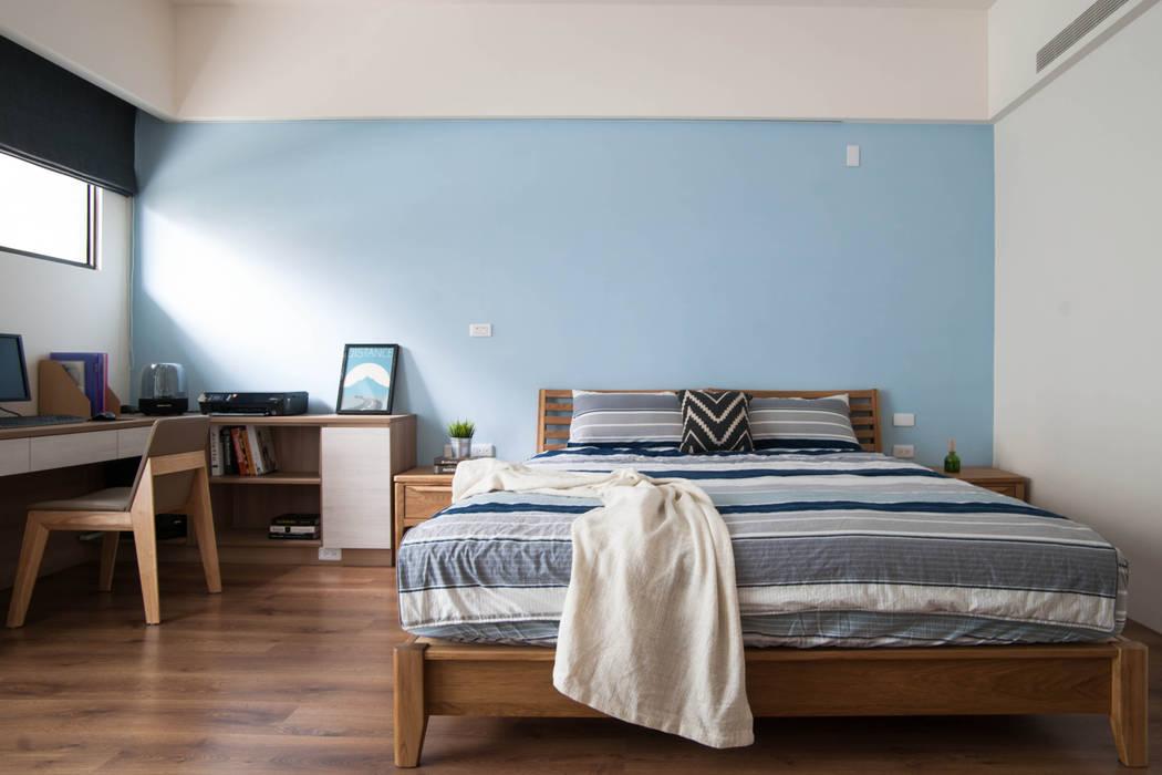 Dormitorios de estilo  de homify, Escandinavo