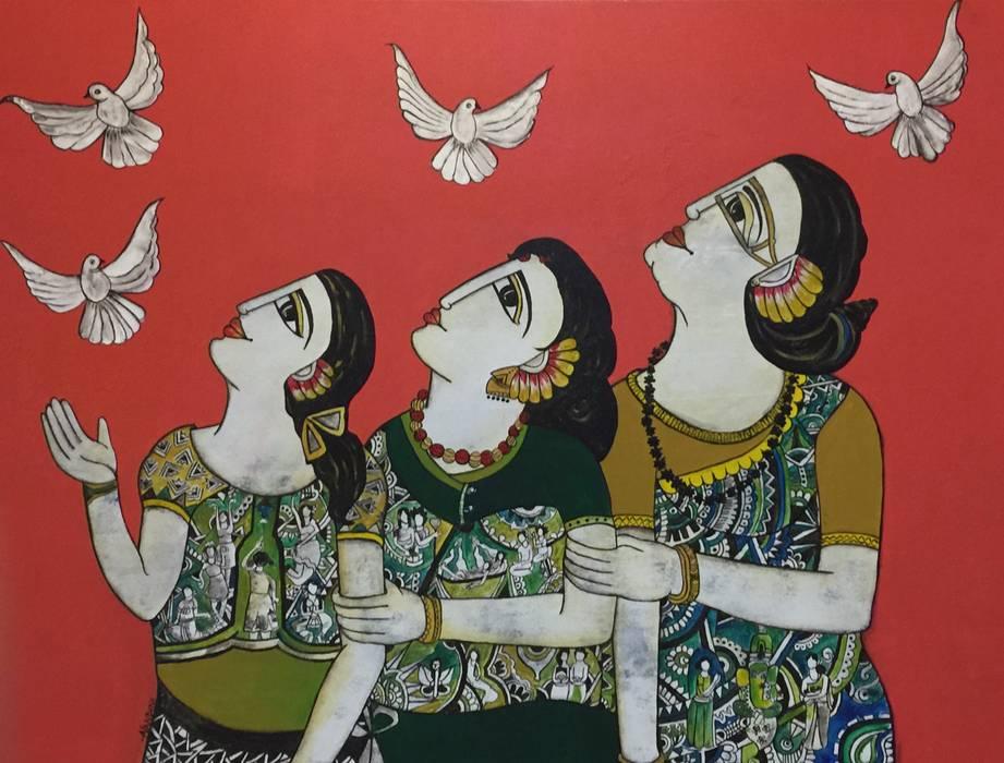 в . Автор – Indian Art Ideas, Азиатский
