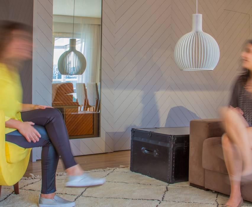 Camila Cavalheiro arquiteta Living room