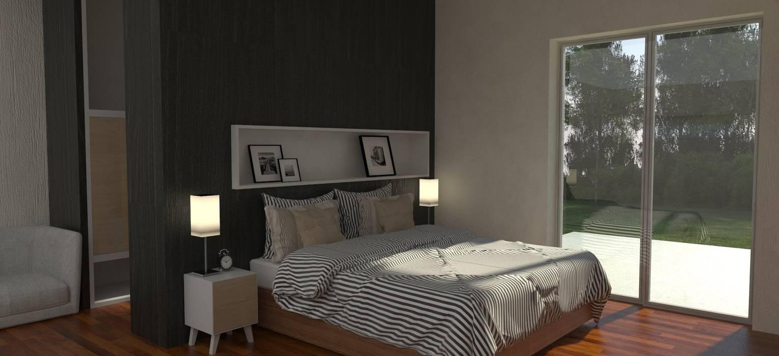 Bedroom by IMAGENES MR, Modern