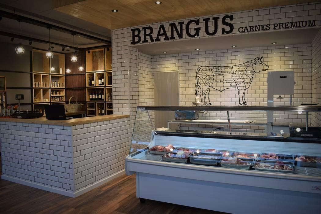 BRANGUS - Mercado: Pisos de estilo  por Da!  Diseño de  Interiores,Industrial