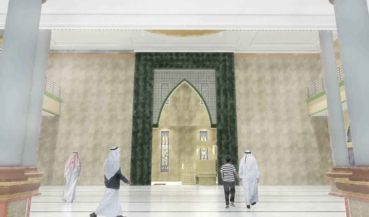 Masjid Raya Persatuan Oleh Besar Studio Arsitektur Mediteran