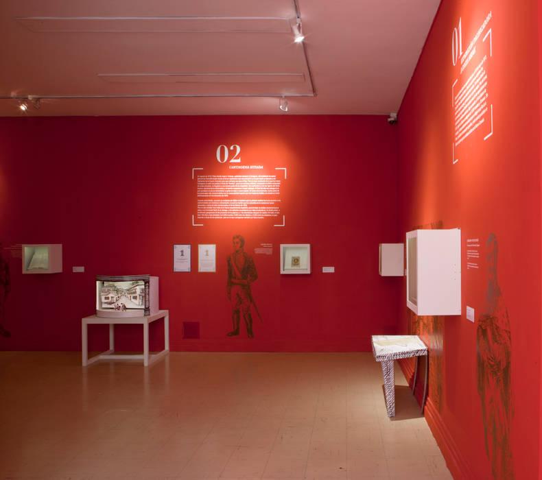 Biblioteca Nacional de Colombia Zet // diseño de espacios Museos
