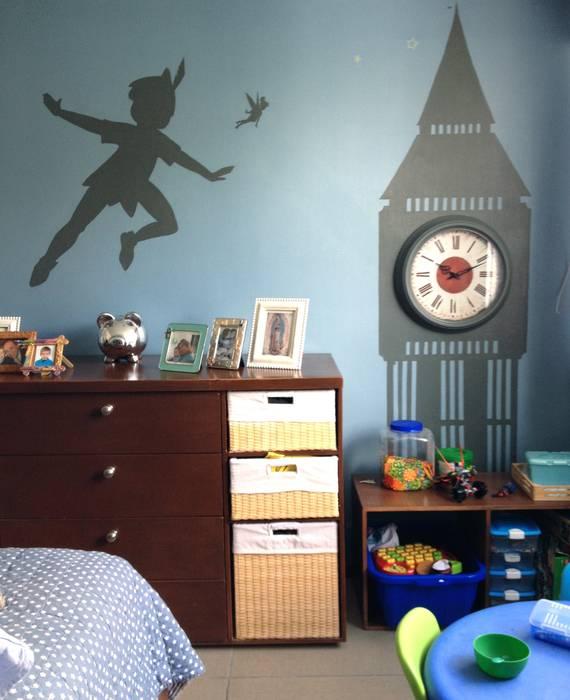 Decoración para cuarto de niños: recámaras para niños de estilo por ...