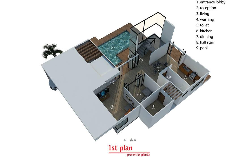 แบบบ้าน P11:   by plan 23