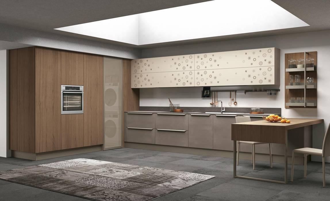 сучасний  by Area design interiores , Сучасний