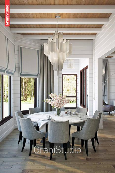 Домашний очаг Столовая комната в классическом стиле от GraniStudio Классический