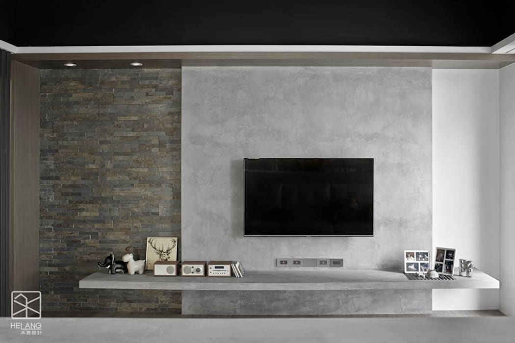 Dinding oleh 禾廊室內設計, Industrial