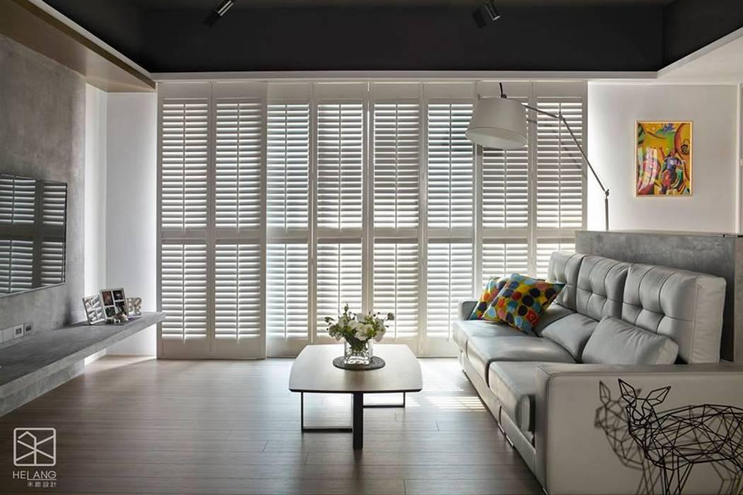 Wooden windows by 禾廊室內設計, Scandinavian