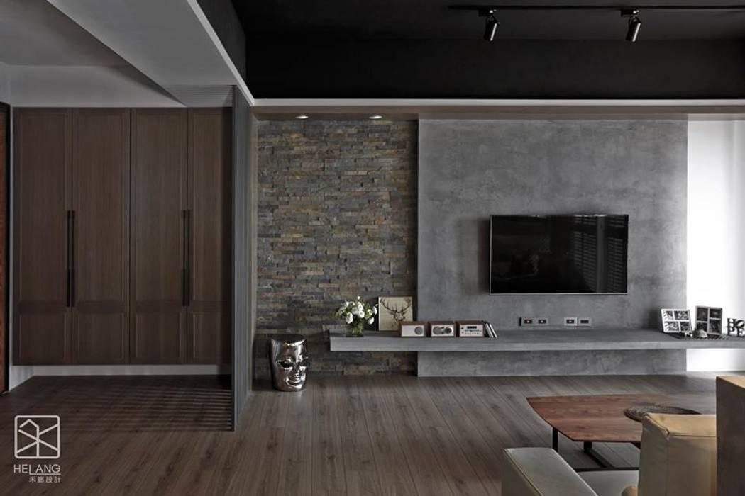 材質的不同銜接:  牆面 by 禾廊室內設計