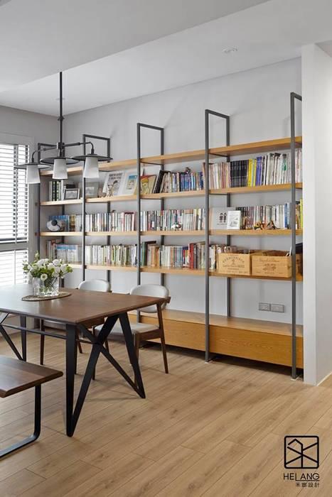開放式鐵件櫃 by 禾廊室內設計 Industrial Iron/Steel