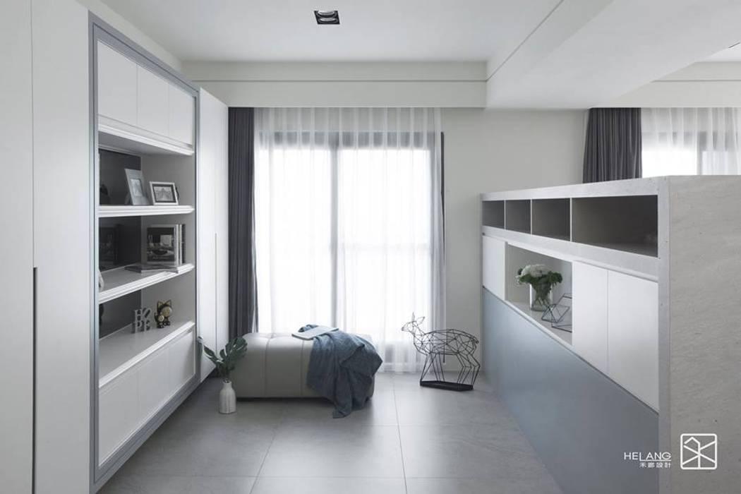噴漆與大理石 Modern study/office by 禾廊室內設計 Modern Marble