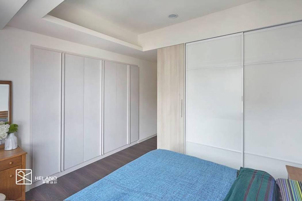 訂製傢具與工程:  臥室 by 禾廊室內設計