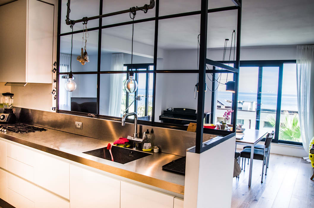 Industrial Chic Cucina in stile industriale di Studio ARCH+D Industrial