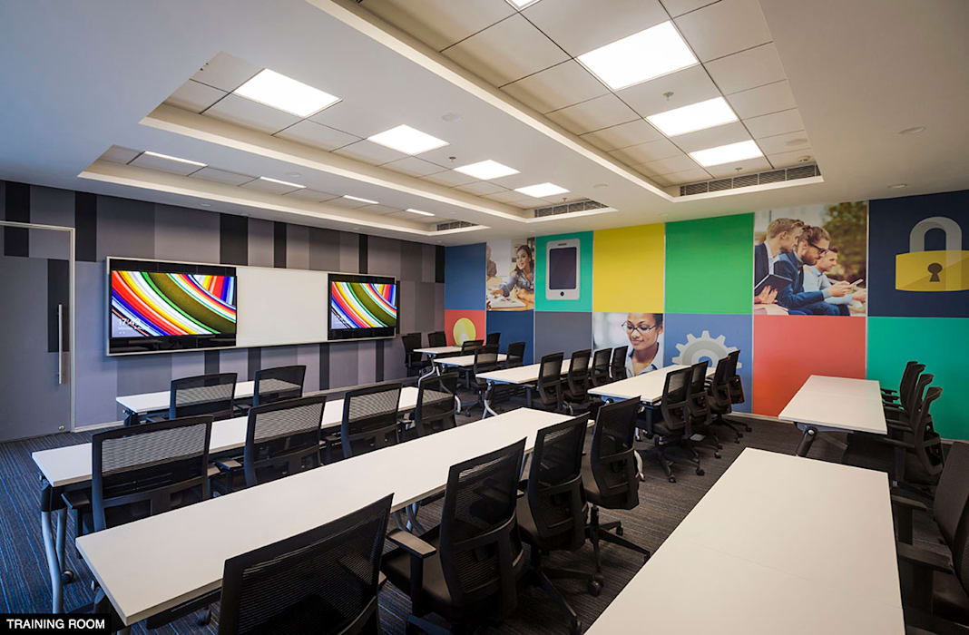 Training Room Modern By Basics Architects Modern Homify,Dubai Design District Logo Png