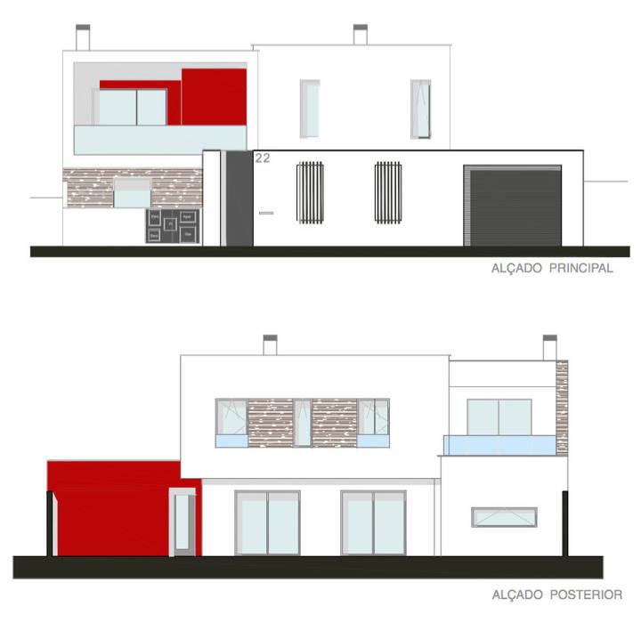 Moradia T4:   por Teresa Ledo, arquiteta