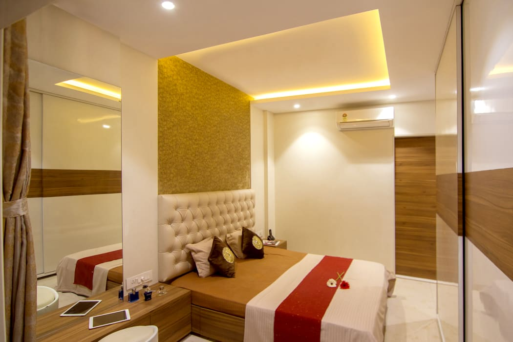 Master Bedroom Modern style bedroom by A Design Studio Modern Plywood