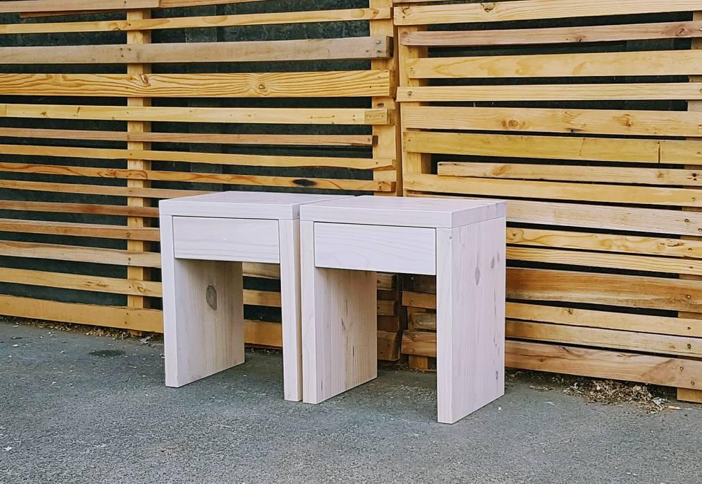 Eco Furniture Design SchlafzimmerNachttische Holz