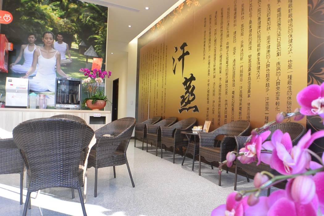 萩野空間設計 Ruang Komersial Gaya Asia