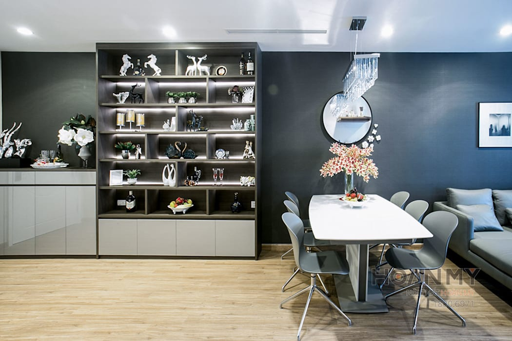 Thiết kế nội thất phòng ăn:  Phòng ăn by Thương hiệu Nội Thất Hoàn Mỹ