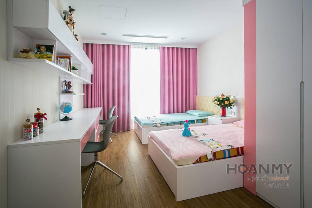Thiết kế nội thất phòng ngủ trẻ em bởi Thương hiệu Nội Thất Hoàn Mỹ Hiện đại