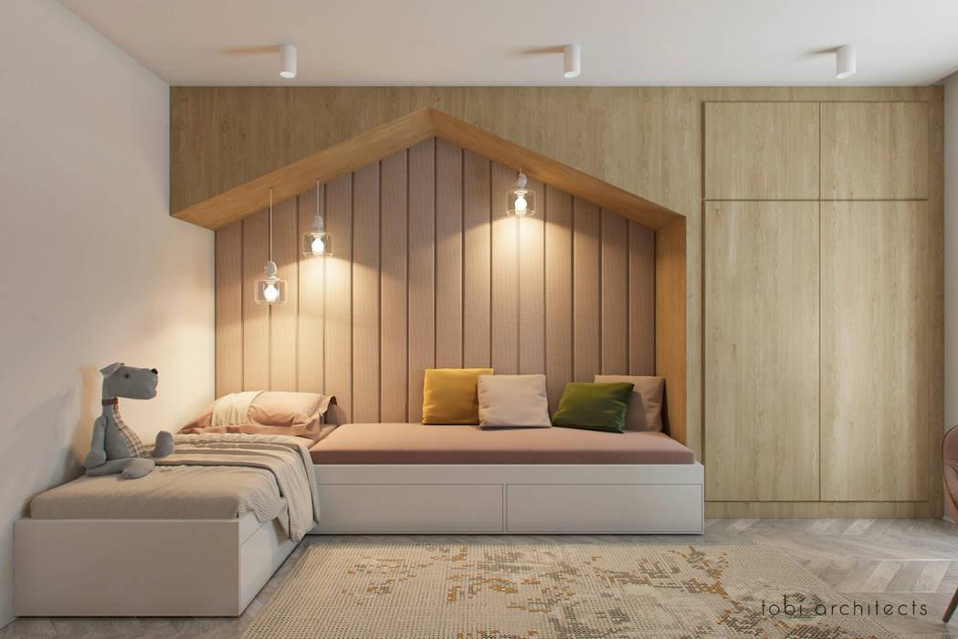 : minimalistische Kinderzimmer von Tobi Architects