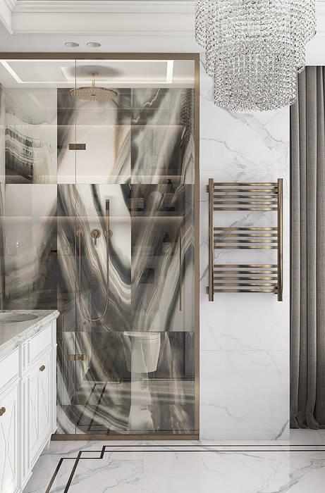 JACK HOUSE Ванная комната в эклектичном стиле от U-Style design studio Эклектичный