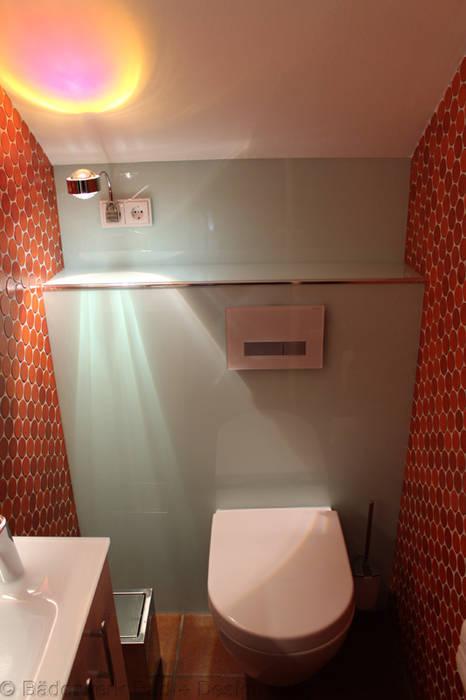 Erneuerung gäste wc unter beibehaltung der alten fliesen: badezimmer ...