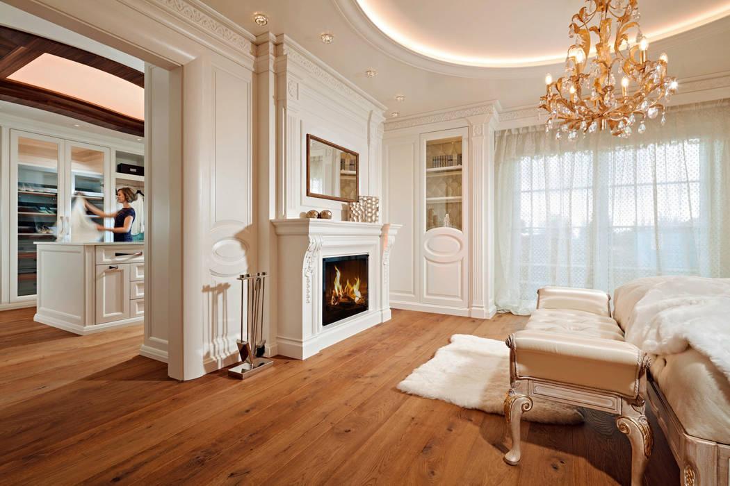 Elegantes schlafzimmer: schlafzimmer von baur wohnfaszination gmbh ...