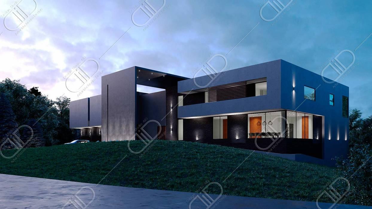 Algonquin Modern houses by Design Studio AiD Modern