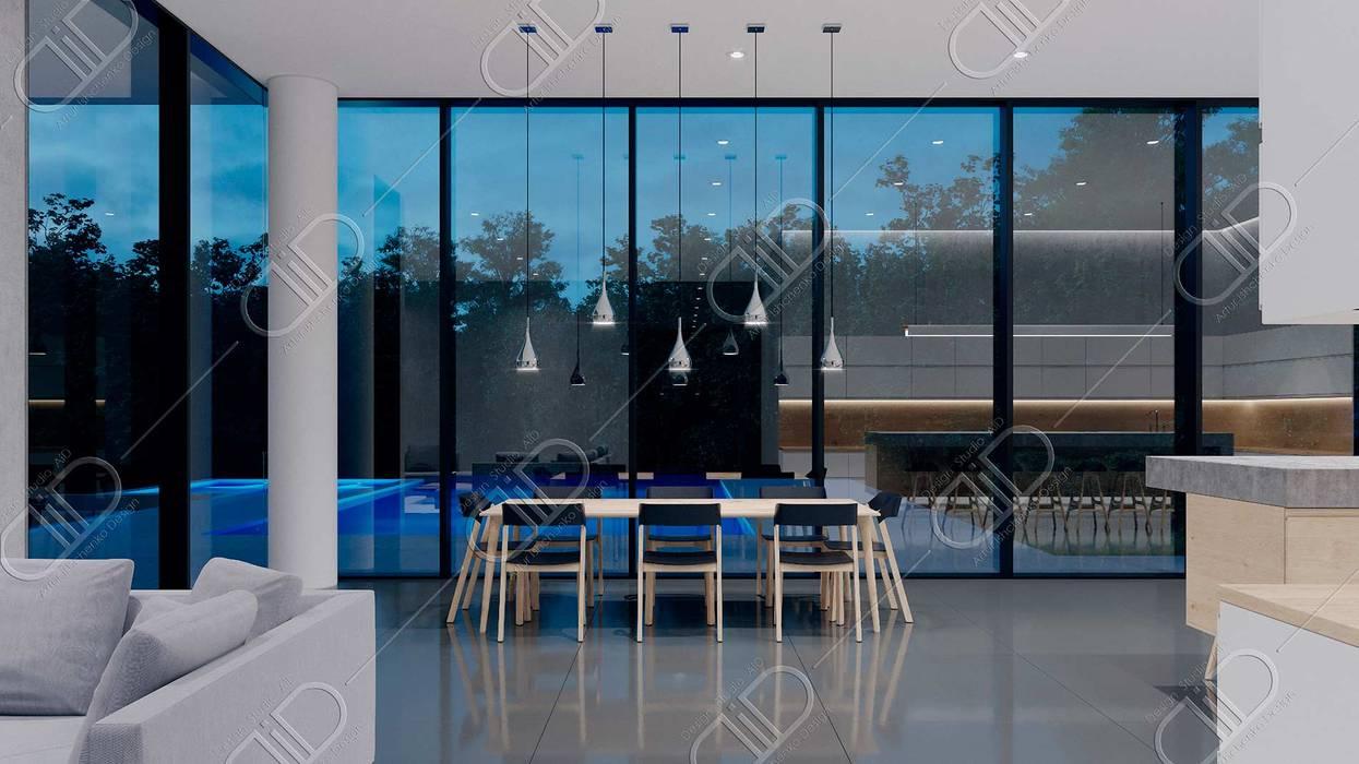 Ruang Makan Modern Oleh Design Studio AiD Modern