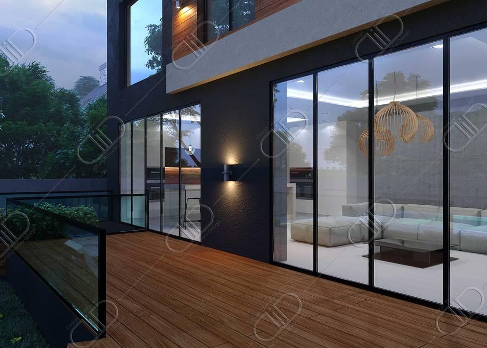Plateau Design Studio AiD Modern houses