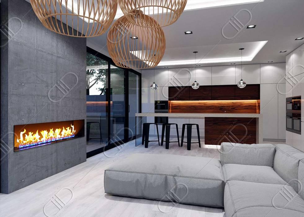 Plateau Design Studio AiD Living room