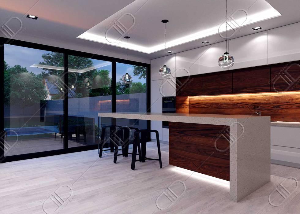 Plateau Design Studio AiD Modern kitchen