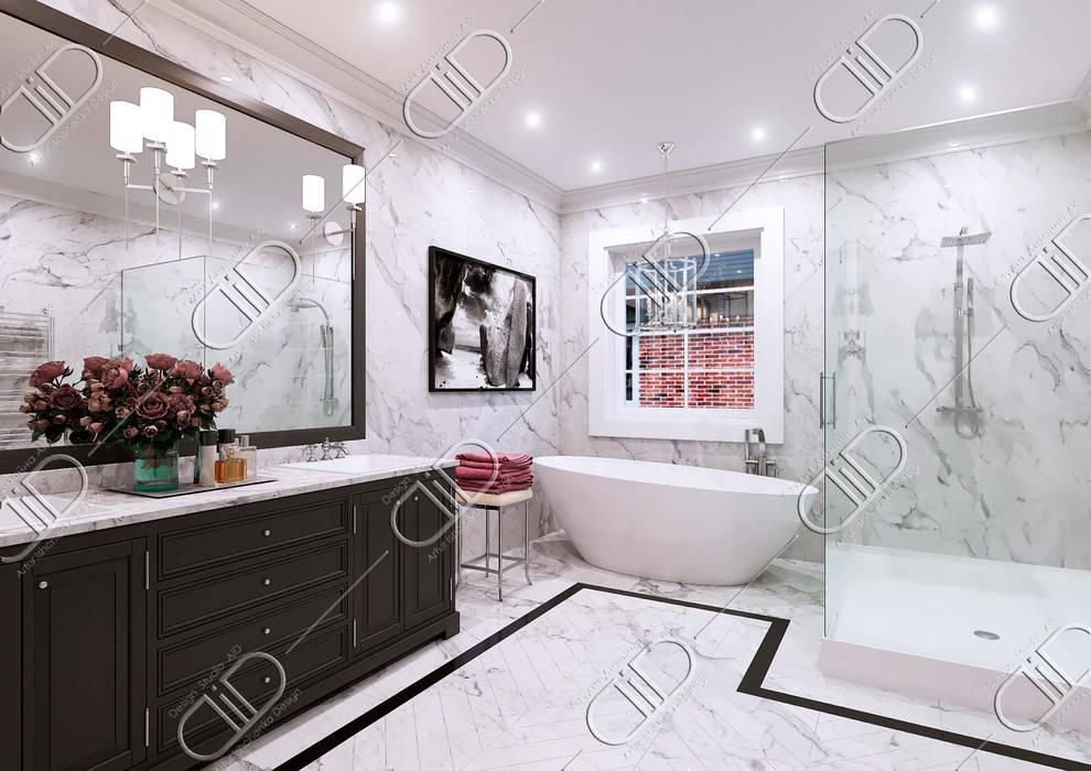 NObelton:  Bathroom by Design Studio AiD