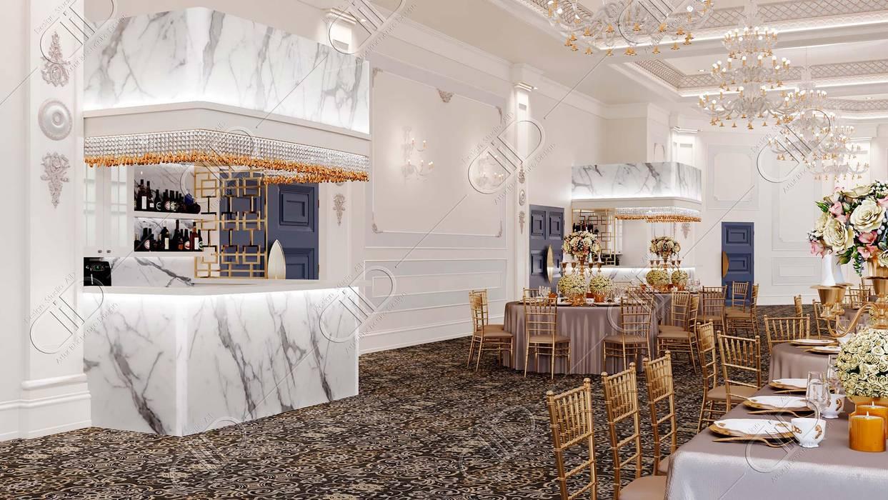 Royal Venetian Banquet Hall Design Studio AiD Wine cellar