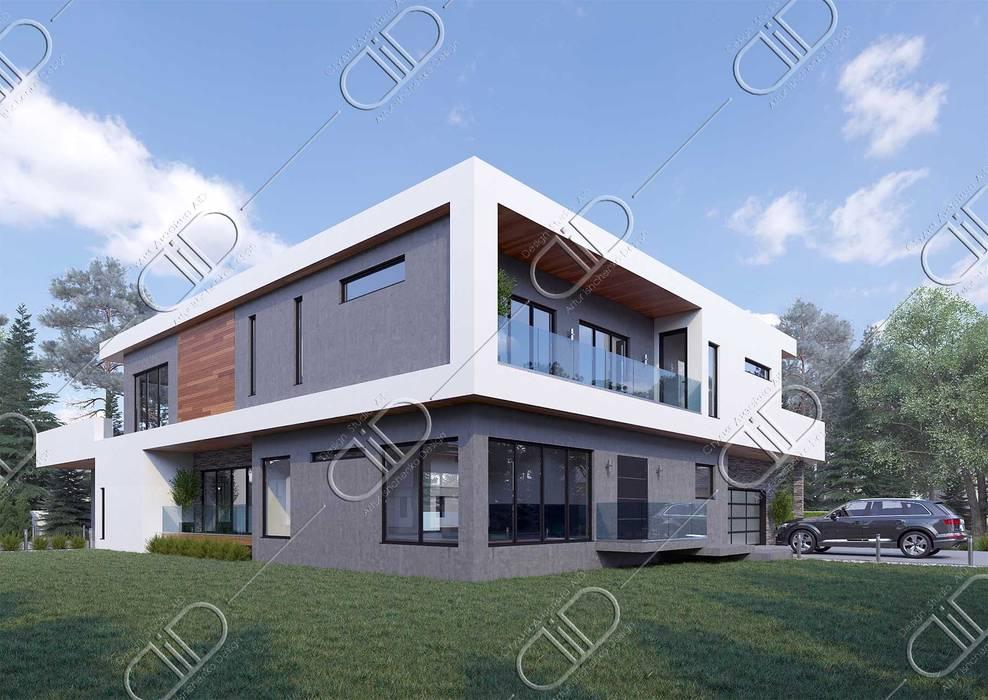 ミニマルな 家 の Design Studio AiD ミニマル
