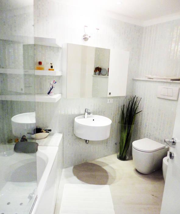 DELFINETTIDESIGN Ванна кімната Дерево Білий