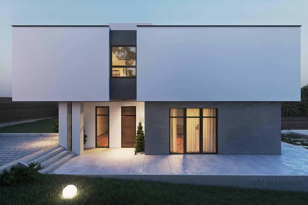 Rumah oleh Tobi Architects, Minimalis